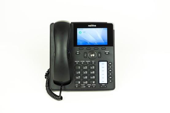 A PBX cloud desktop phone