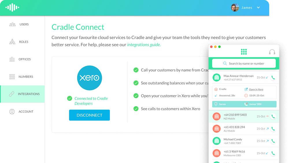 Xero easy connect integration
