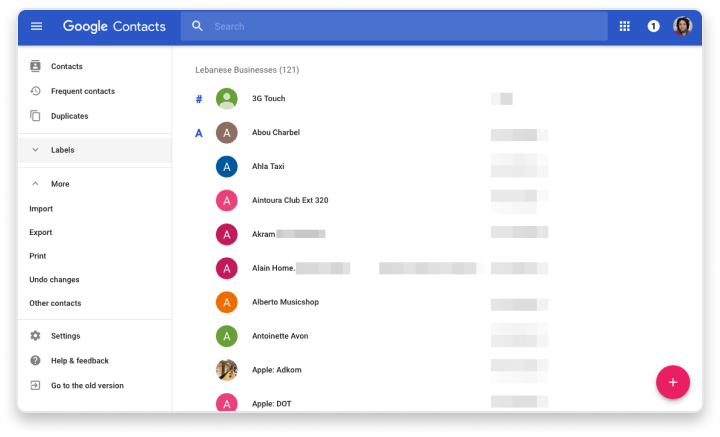 Google Workspace Integration syncs your exisitng contacts over to Cradle cloud based calling system